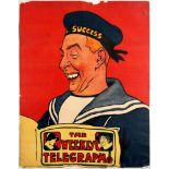 Advertising Poster The Weekly Telegraph Sailor