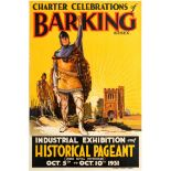 Advertising Poster Barking Essex UK Pageant
