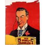 Advertising Poster The Weekly Telegraph Aristocrat