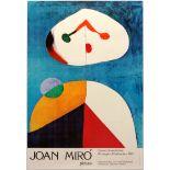 Art Exhibition Poster Miro Sotrop Phillips Collection Contemporary Art Civic Unrest
