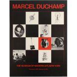 Art Exhibition Poster Duchamp Helion Barberini Expressionism Pompidou
