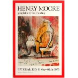 Art Exhibition Poster Henry Moore Tate Segui Agora Gentils Haus