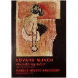 Art Exhibition Poster Munch Longhi Charlottenborg Romanticism Psychiatric Architecture