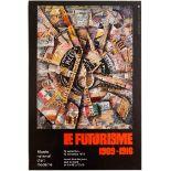 Art Exhibition Poster Futurism Apollinaire Bernard Mininot Danish Artists Werkbund 1907