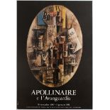 Art Exhibition Poster Apollinaire Gustav Seitz French Art Metafisica