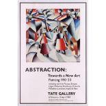 Art Exhibition Poster Abstraction Tate Wortelkamp Henry Fuseli Gentilini
