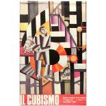 Art Exhibition Poster Cubism Sonya Delaunay Fontana