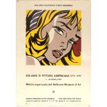 Art Exhibition Poster Lichtenstein Mane-Katz Surrealists Hyperrealists Willi Sitte