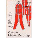 Art Exhibition Poster Marcel Duchamp Papazoff Pope