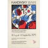 Art Exhibition Poster Kandinsky Struycken Giotto Brindisi Bergfeld