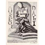 Art Exhibition Poster Dali Guacci Gruppo Zebra