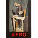 Art Exhibition Poster Afro Campigli Hormiman Museum Yoruba Cults Renaissance