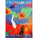 Art Exhibition Poster Fromanger Moncada Paris Caravaggio National Gallery