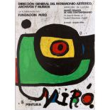 Art Exhibition Poster Miro Moncada Jim Dine