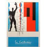 Art Exhibition Poster Corbusier Cahours British Gallery Gold Scythian Sculptures