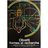 Art Exhibition Poster Kokoschka Primo Conti Olivetti Rubens Metafisica