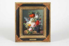 Jan Frans van Deal (Anvers/Belgien 1764-1840) Porzellan-Stilleben, Fleurs et Fruits,