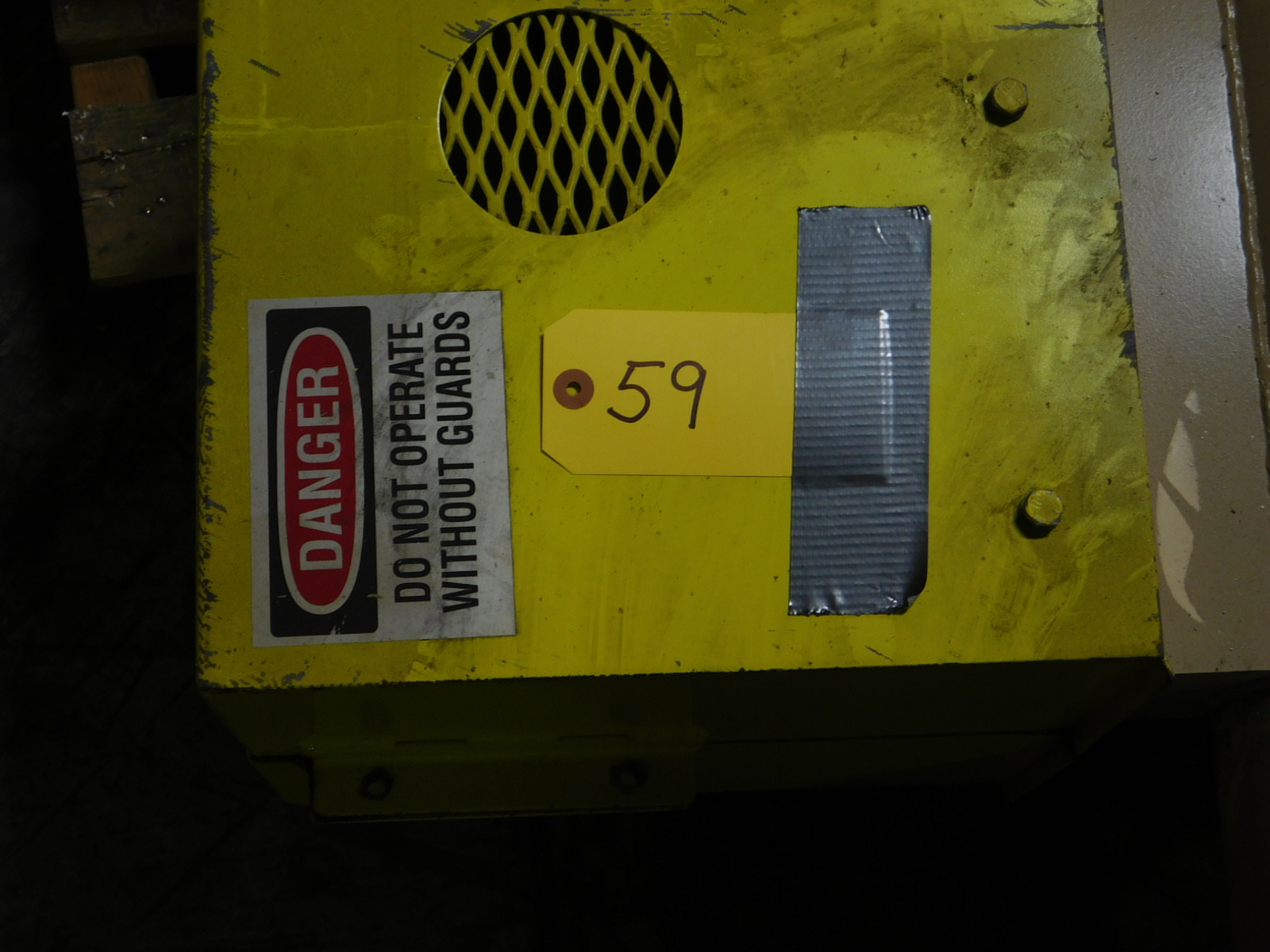 Lot 59 - Dynamet Lot of 2 Pipes and motor internal l box :equipment located at Clark Logistic Services |314-