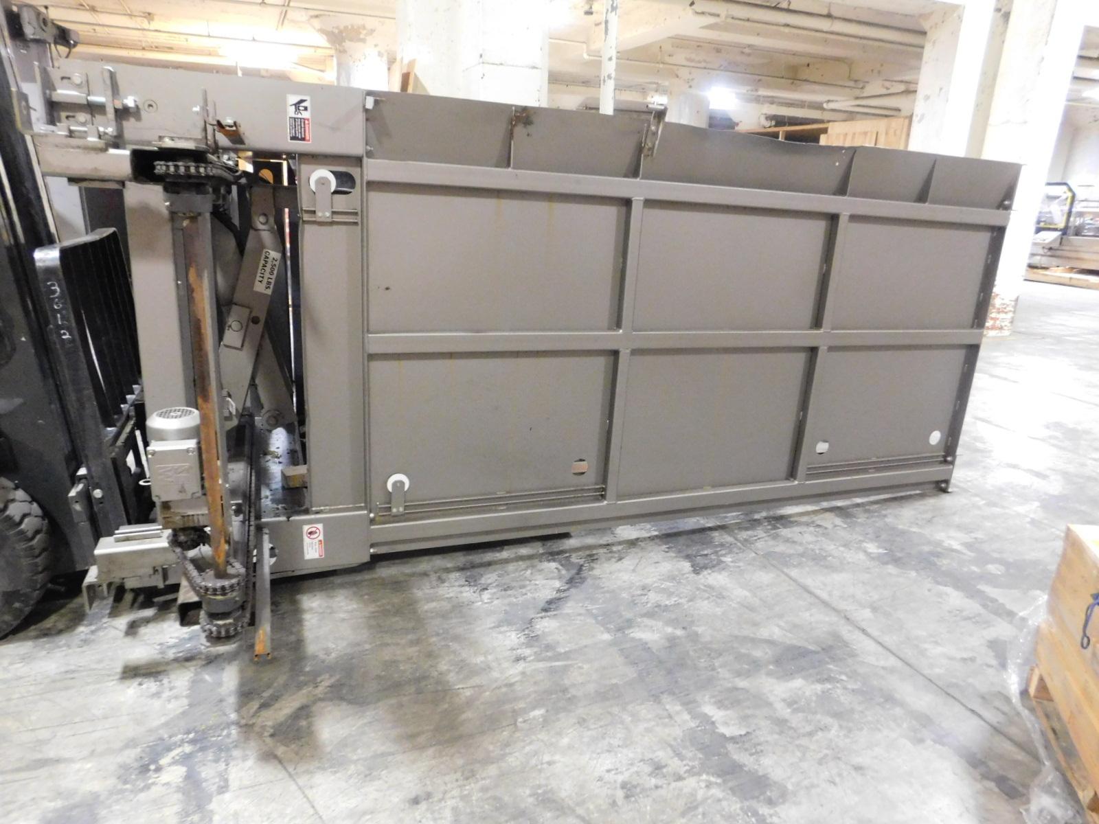 Lot 25 - Bastian Material Handling Low Level Case Palletizer Model 4000, SN:9182-100, Mfg. 2007,Low Level