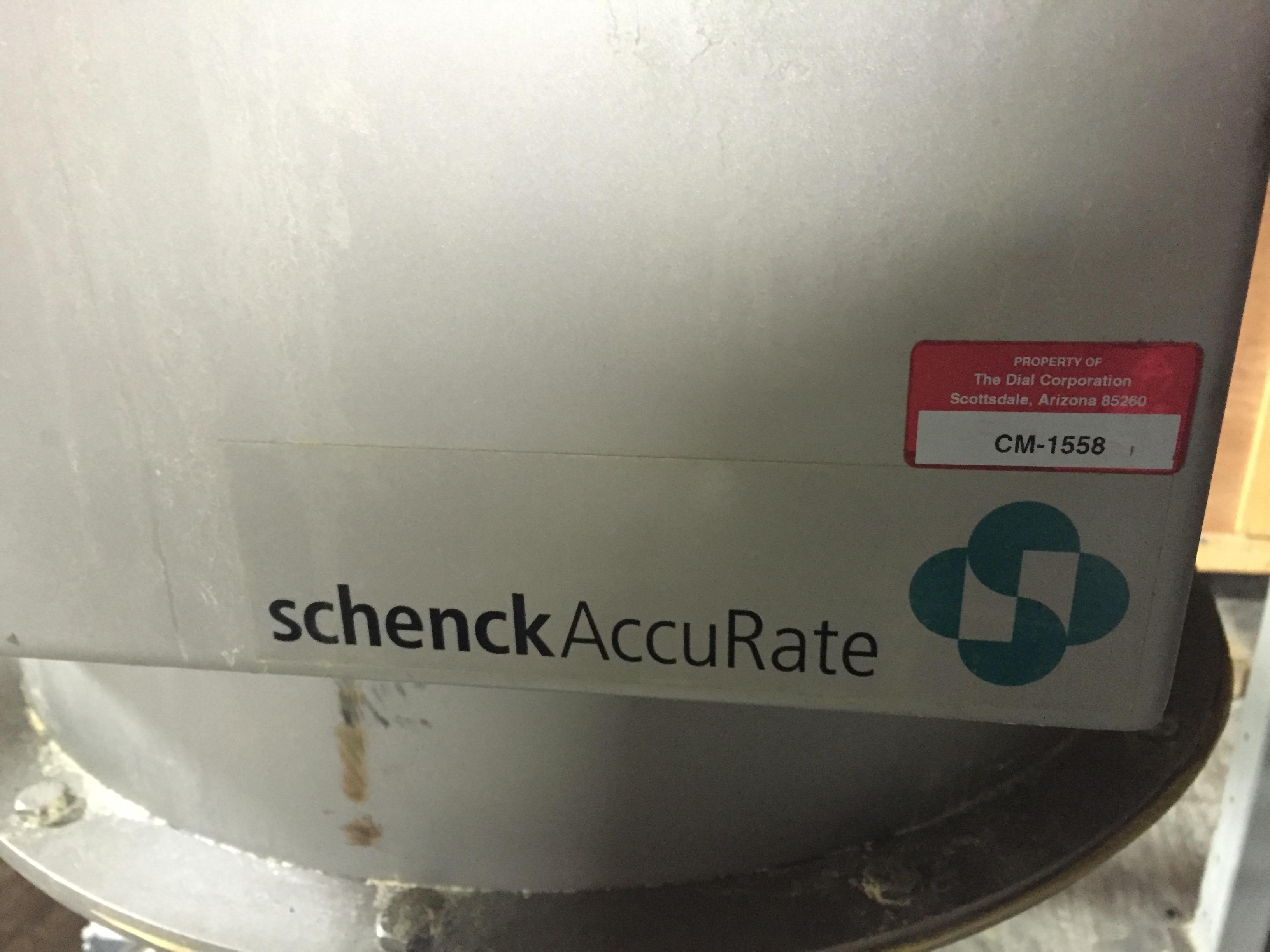 Lot 22 - SacMaster Schenck Accu Rate,Sackmaster Model:A127-89601301,SN:127896-03A-PLC,MFG 2008, 5'-3' x8'