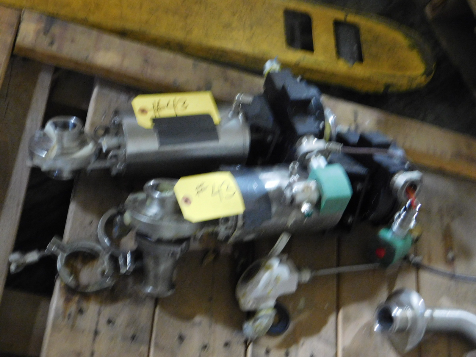 Lot 43 - ASCO QTY 2 Rotary Position Indicator, VR3C2YAA2NGA :equipment located at Clark Logistic Services |