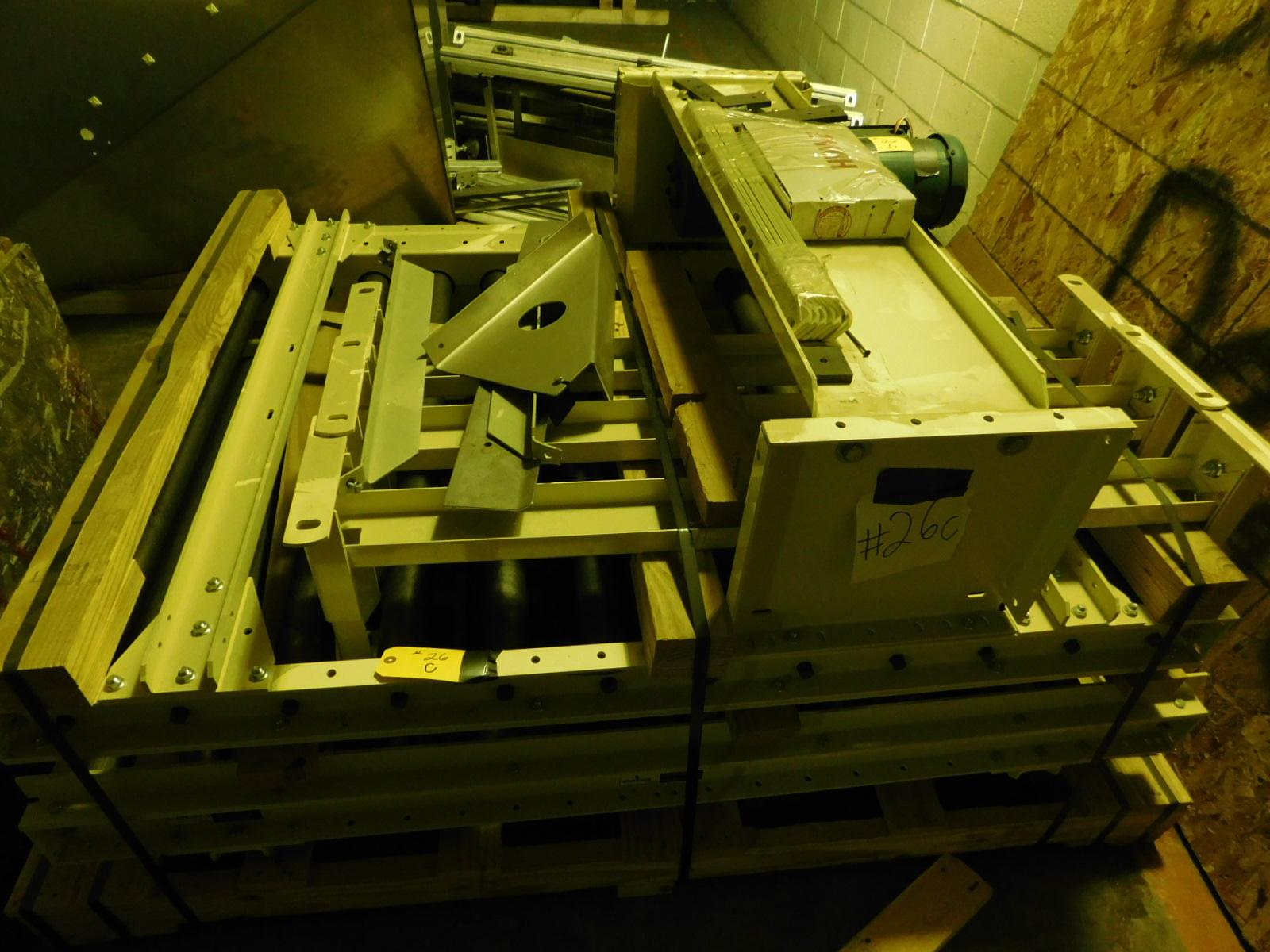 "Lot 26C - Hytrol Motorized conveyor EST.46 1/2""X60 1/4"" 460V, 3PHASE , TH EBACK CONVEYOR IN THE IMAGE IS NOT"