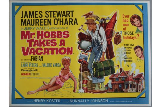 Image result for Mr. Hobbs Takes a Vacation 1962