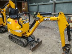 JCB 8008 CTS MICRO EXCAVATOR EXPANDING TRACKS 664REC HRS