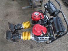 2NO BOMAG 4 STROKE TRENCH COMPACTORS