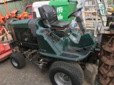 HAYTER 4WD TRIPLE RIDE ON CYLINDER MOWER 2073 REC HRS