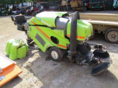 GREEN MACHINE RIDE ON SWEEPER REG:SK63 LGW