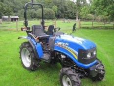 SOLIS COMPACT TRACTOR 26..ex demonstration, very low hours