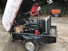 SULLAIR TOWED COMPRESSOR C/W KUBOTA ENGINE