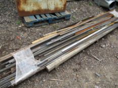 PALLET OF MIXED USEFUL STEEL