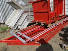 2NO MEZZANINE FLOOR STAIRS C/W GUARD RAILS AND LANDINGS
