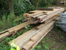 LARGE QUANTITY OF ASSORTED LENGTH TIMBER