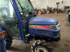 ISEKI th4330 COMPACT TRACTOR C/W FULL CAB