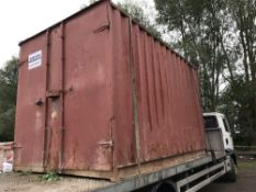 SECURE STORAGE CONTAINER 12FT LENGTH APPROX