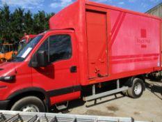 IVECO 6500KG BOX LORRY KE55 AWM