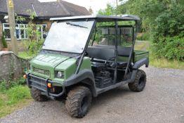 2014 Kawasaki Trans Mule 4010 agricultural utility vehicle