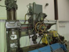 ASQUITH LARGE SIZED RADIAL DRILL EX COMPANY LIQUIDATION