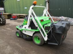 ETESIA H124D RIDE ON MOWER C/W HIGH DISCHARGE COLLECTOR