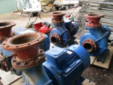 4NO PULLEN M200 HIGH CAPACITY WATER PUMP WITH 3 PHASE MOTOR