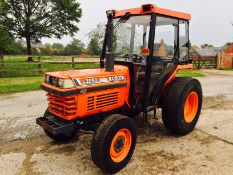 Kubota L3250 4wd Compact tractor on turf tyres, 40hp, 3266 hours