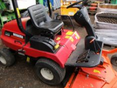 Shibaura CM214 4wd diesel outfront mower