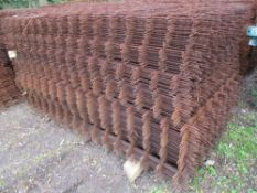 200NO APPROX SHEETS OF CONCRETE REINFORCING MESH 1.2X 2.4METRES