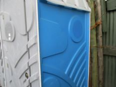 ELECTRIC HOT WASH PORTABLE TOILET