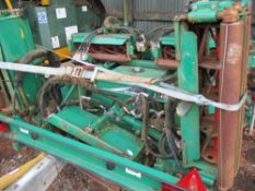 Set of Ransomes TG4560 gang mowers