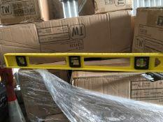 50no boxes of 24no spririt levels