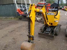 JCB 800 8CTS 0.75tonne rated micro excavator